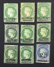MOMEN: ST HELENA SG # 1884-94 CROWN CA MINT OG H / UNUSED £ LOT #5132
