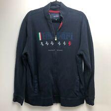 Ferrari Jacket Men's 3XL Navy Blue Full Zip Italian Supercar
