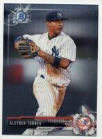 2017 BOWMAN CHROME - Gleyber Torres/MINT NY Yankees ROOKIE