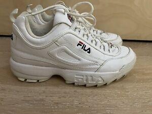 FILA WHITE DISRUPTOR SNEAKER SZ EU42
