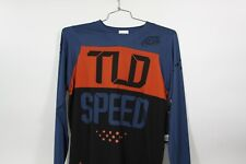 2019 Troy Lee Designs Skyline Air Speed Shop L/S Jersey Blue & Clay