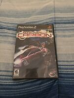 PlayStation 2 PS2 Game – Need for Speed Carbon (CIB Complete) Black Label