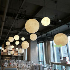 Modern moon Hanging Pendant Lamp Lunar lighting Ceiling Light Chandelier