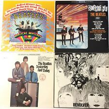 4 BEATLES Vinyl Albums Magical Mystery Something New Yesterday & Today Revolver