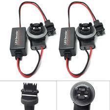 2x 3156 3056 Hyper Flash Fix Error Free Wiring Adapter For LED Turn Signal Light