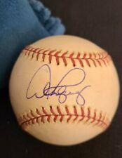 ALEX RODRIGUEZ SIGNED OFFICIAL MLB BASEBALL NY YANKEES GANE USED HOMER COA+PROOF