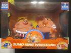 Blue Hat Sumo King Wrestling Head-2-Head Fighters RC