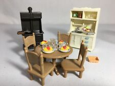 New ListingCalico critters/sylvanian families Farm style Kitchen Furniture With Dinner