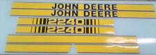 John Deere 2240 Hood Decals