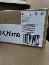 *(Lot 12)*Ring Chime A Wi-Fi-Enabled Speaker for Your Ring Video Doorbell White