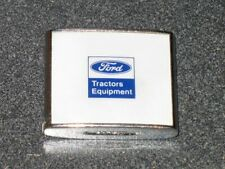 Vtg TAPE MEASURE Advertising FORD MOTOR * TRACTORS EQUIPMENT * Retracts Nicely