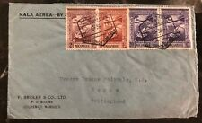 1941 Lorenzo Marques Portuguese Mozambique airmail cover to Bern Switzerland