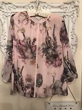 Ted Baker Kalima Torchlight Floral Top Size 12 BNWOT