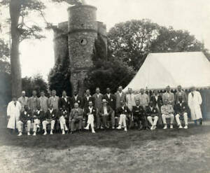 Lord Harris' Xi Versus The West Indians At Belmont Kent 1923 Cricket OLD PHOTO
