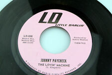 Johnny Paycheck: The Lovin' Machine / Pride Covered Ears  [Unplayed Copy]