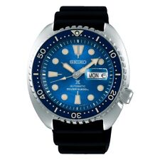 SEIKO SRPE07K1 Men's Prospex King Turtle Diver Automatic Silicone Blue Special