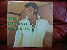 Elvis Presley - The Legend Lives On: Vinyl, LP, Unofficial, Stereo - NEW SEALED
