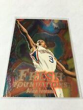 1996-97 Fleer Metal Allen Iverson #236 Rookie HOF Great Condition!