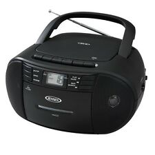 Jensen CD-545 Portable Stereo CD Player with Cassette Recorder & AM/FM Radio New