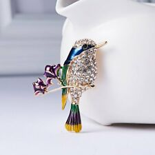 Pin Womens Men Custume Jewellery Gift Chic Animal Bee Honeybee Crystal Brooch