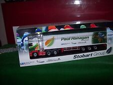 Oxford Diecast Truck 1/76 Scania Walking Floor Stobart Jockey Hanagen 00 Gauge