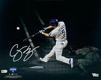 "COREY SEAGER Signed 2020 World Series 11"" x 14"" Spotlight Photograph FANATICS"