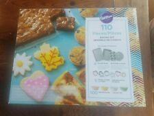 Wilton 110 Piece Cake cupcakes cookies  Baking set and  Accessory NEW in box