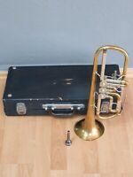 B&S Markneukirchen Klingenthal Trompete 2/1 Mundstück NR. 143787 Made GDR