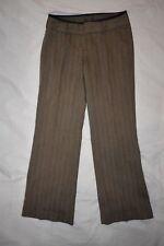 EUC Banana Republic Stretch Dress Business Pant Slack Women 6 Brown Tweed