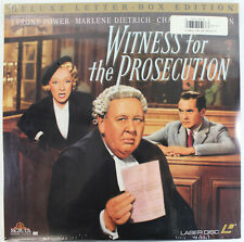 Witness for the Prosecution - 1957 Classic - Laserdisc - New