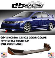 Mu-gen Si Style Front Lip (Urethane) Fits 06-08 Honda Civic 4dr Sedan JDM VTEC