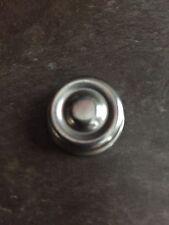 "Velocipede 7/16"" Tricycle Chrome Metal End Cap Vintage NOS"