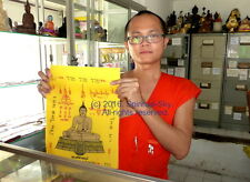 GENUINE BUDDHA PHA YANT. TEMPLE CLOTH BLESSED FROM WAT SUTHAT TEMPLE THAILAND