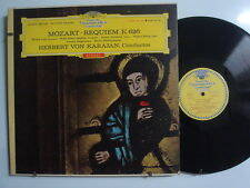 KARAJAN Mozart Requiem K626 IMP LP Germany DGG Red Stereo SLPM138767 TULIPS Mint