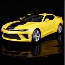 Maisto 1:18 2016 Chevrolet Camaro SS Diecast Model Sports Racing Car bumblebee