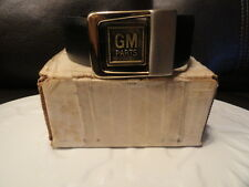1980's GM Belt Brand New in Box, Double sided Black & Brown - Belt Buckle