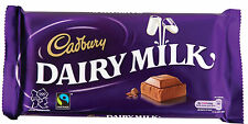 Cadbury's Chocolate Bar - A4 Printed Iced Sheet cake Topper