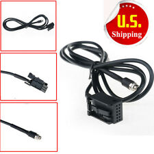 3.5mm Adapter AUX Female Audio Cable For BMW E86 iPhone Business CD Charger MP3