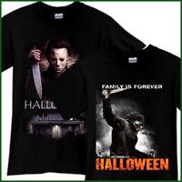 MICHAEL MYERS Halloween Horror Thriller Movie Black T-Shirt TShirt Tee Sz S-3XL