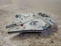 "9"" Star Wars Light Up Millenium Falcon Light And Sounds Toy Collectible"