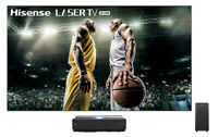 "Hisense 100"" L10 Series 4K UHD Smart Laser TV with HDR and Wide Color Gamut"