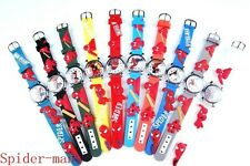 Wholesale 15pcs Children Boys girls Kids  Cartoon 3D Silicone Sport watches H5