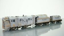 "Milestone Models P-B-L Sn3 D&RGW Snowplow set ""OY"" Foreground Model HO scale"