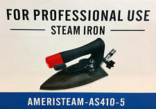Ameristeam AS410-5 All Steam Iron For Professional Use / Dry Cleaners / Business