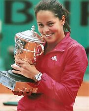 Ana Ivanovic Sexy French Open Champions TENNIS 8x10 Photo Signed Auto COA
