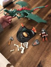 Playmobil Knights Set 6003 Green Great Dragon - Complete Set