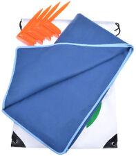 "❤ Youphoria Sport Multi-Purpose Travel Towel Dark Blue//Gray 28 X56/"" Soft Quick"