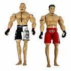 Brock Lesnar & Frank Mir 2009 UFC Jakks Collection Series 8\