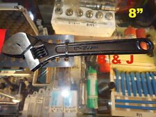 """8"""" Shifter Crescent Wrench Adjustable Calibration Hand Tool Spanner undo Nuts"""