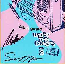 Susanna Hoffs Matthew Sweet signed autographed CD Sid n Susie Under the Covers 3